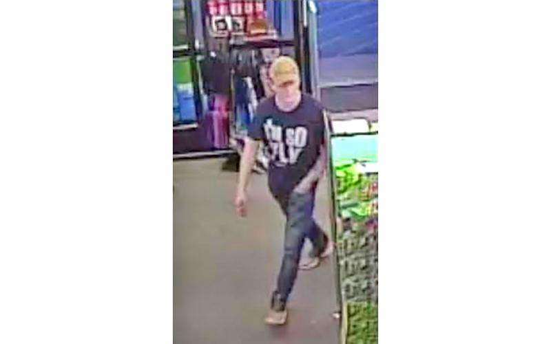 Authorities are circulating a surveillance photo of the suspect who made off with an undisclosed amount of money from the Highway 60 Dollar General and are hoping for some assistance from the public.
