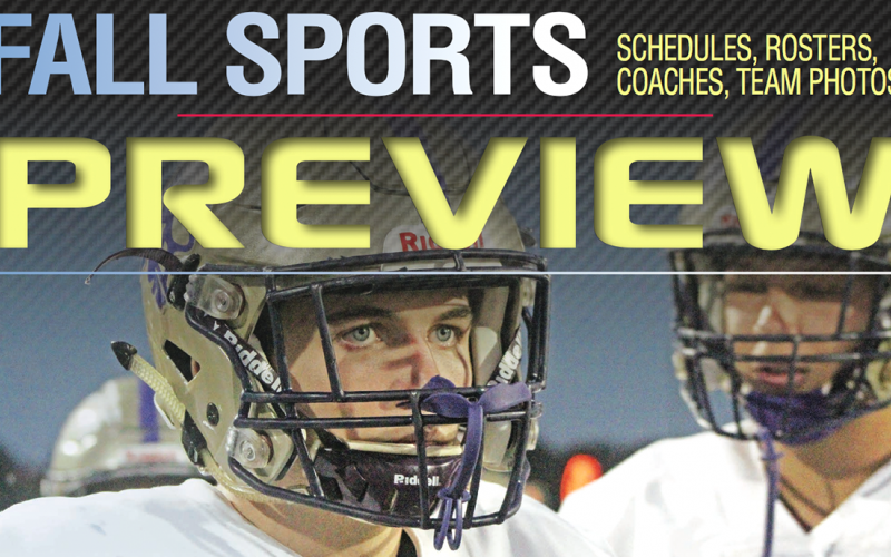 Fall Sports Preview available now