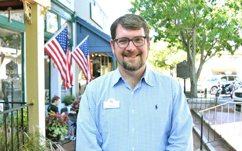 New Tourism Director Sam McDuffie has hit the ground running to begin promoting Dahlonega in fresh ways to potential visitors.