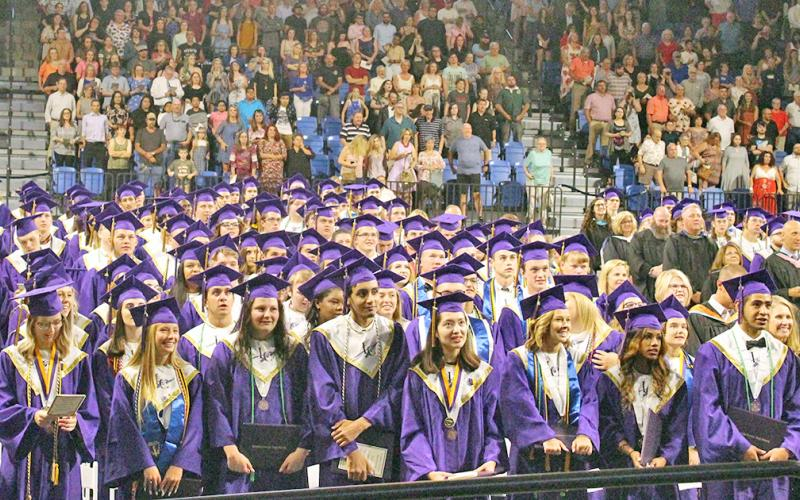 Lumpkin reaches new graduation rate record