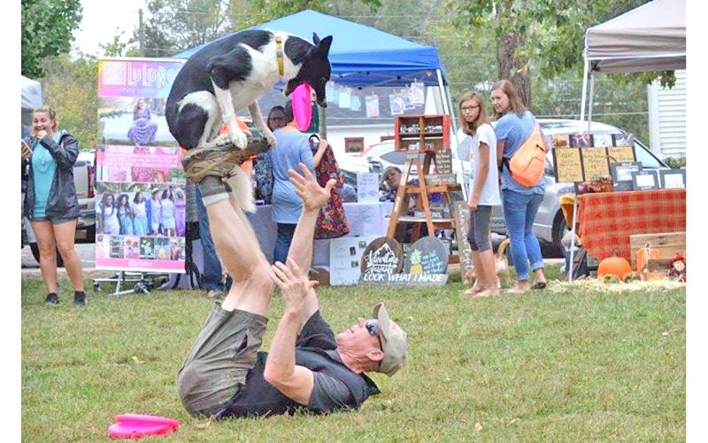 Rick Nielsen and the Dahlonega Action Dogs will perform on Saturday during the Bark in the Park event.