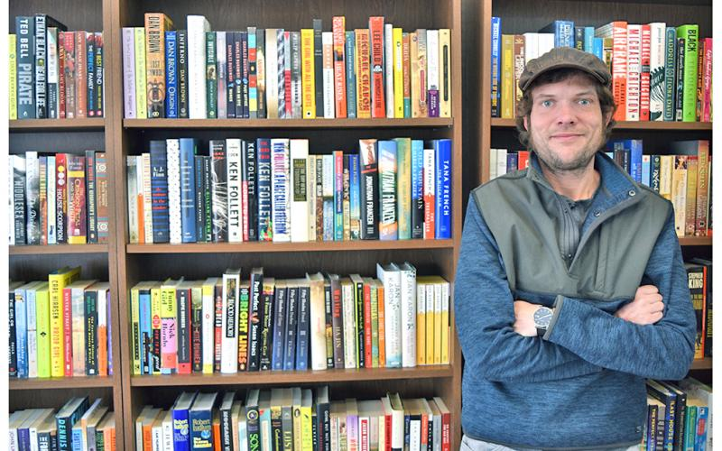 Clay Anderson, a history professor at Reinhardt University, always dreamed of owning a bookstore. Now, thanks to some generous book donors, he stands with about 1,000 books on his sales floor at Bear Book Market, and several more in storage.