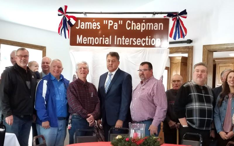 Local intersection named after World War II veteran