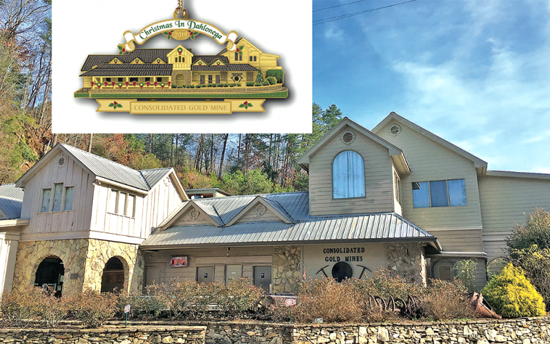 Consolidated Gold Mine in Dahlonega was chosen as this year's CHP ornament