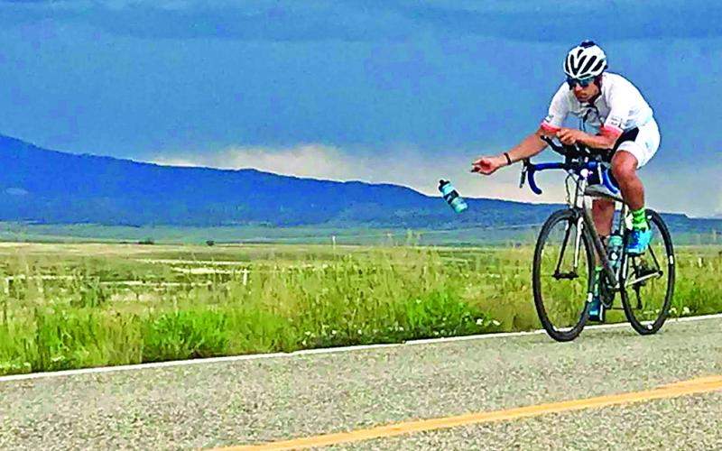 Local resident Thomas Odom competed in the Race Across America this summer and raised over $80,000 to support the Kyle Pease Foundation and the local Connectability organization.