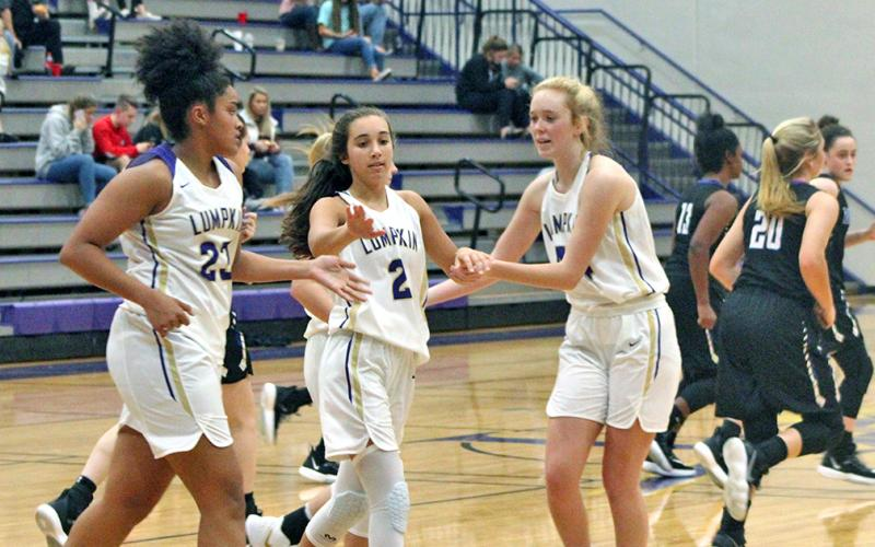 After believing that their 2019-2020 season was over, the Lady Indians basketball team was given new life when it was announced that the team had received an at-large bid for the State Playoffs.