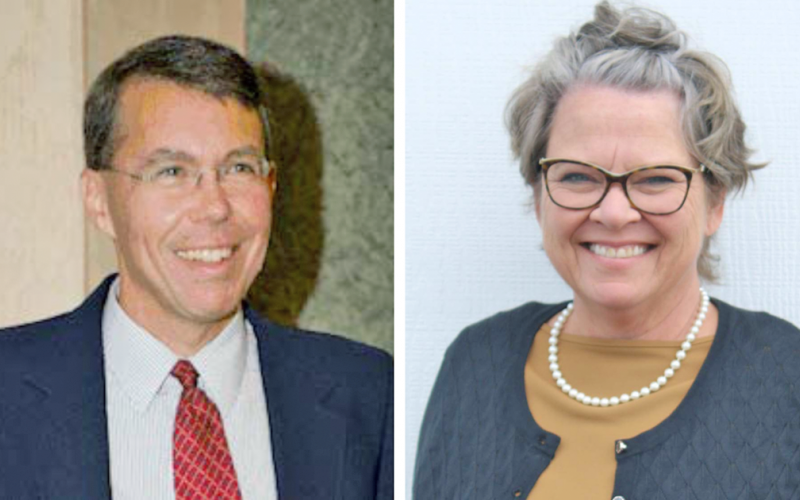 Clint Smith and Sharon Ravert are candidates for the 9th Georgia House seat.