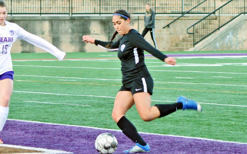 LCHS senior Hope Kenney finished her career as the all-time goal scorer and single season goals record holder.