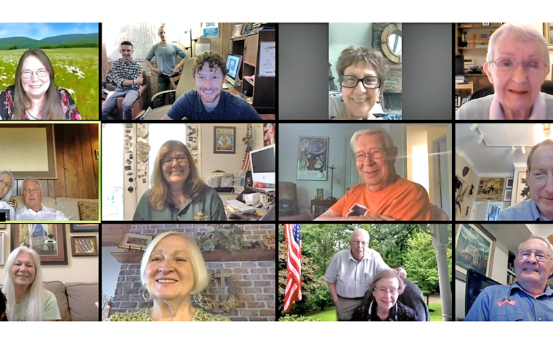 A Zoom call last week included staff members and several long-time Nugget contributors to honor the retirement of reporter Sharon Hall.
