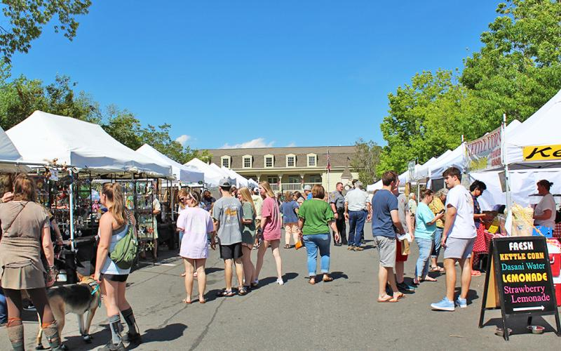 Crowds browsing homemade goods as well as music jam circles will have to wait another year as the Bear on the Square Executive Committee announced the annual Bear on the Square festival would be canceled for a second straight year. The committee looks forward to hopefully having the festival from April 22-24 in 2022.