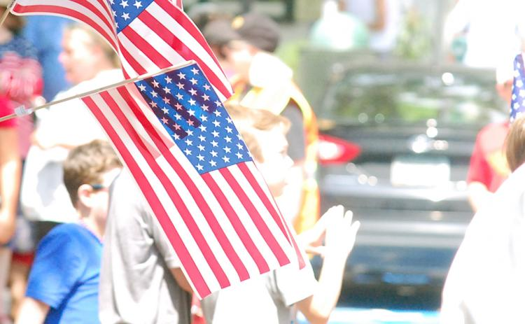 A full day of red, white, and blue festivities is on tap in Dahlonega this Independence Day.