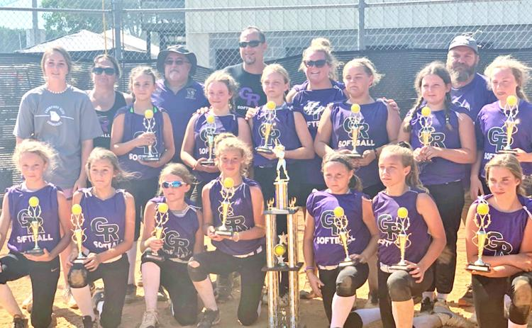 The Gold Rush 12U travel softball team completed its first season with runner-up honors at the Georgia World Series held in Toccoa recently. The team, made up of Lumpkin and Dawson county players, also won the Champions of Georgia State tournament in its inaugural season.