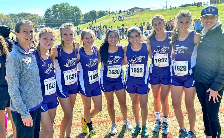 Lumpkin girls XC finishes with strong showing at State