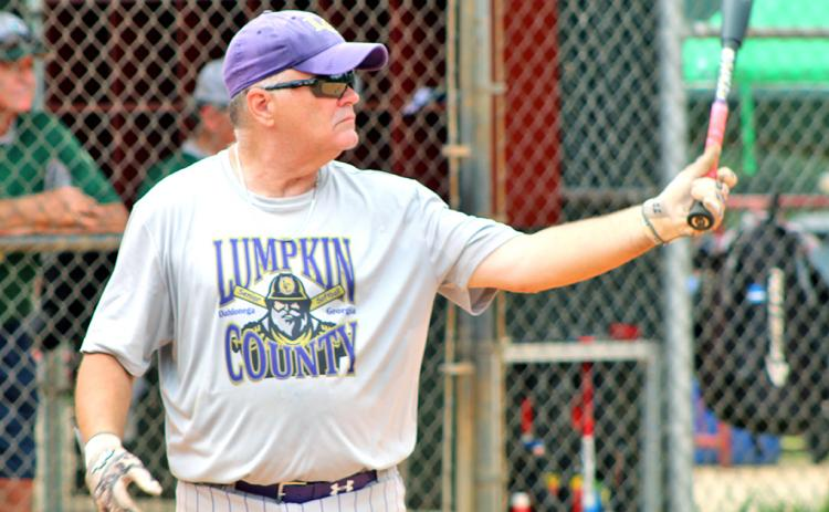 LC Miners player/coach John Daley is ready to get back into the batter's box after delays from the coronavirus pandemic pushed back the start of the 2020 Clayton League Senior Softball season.