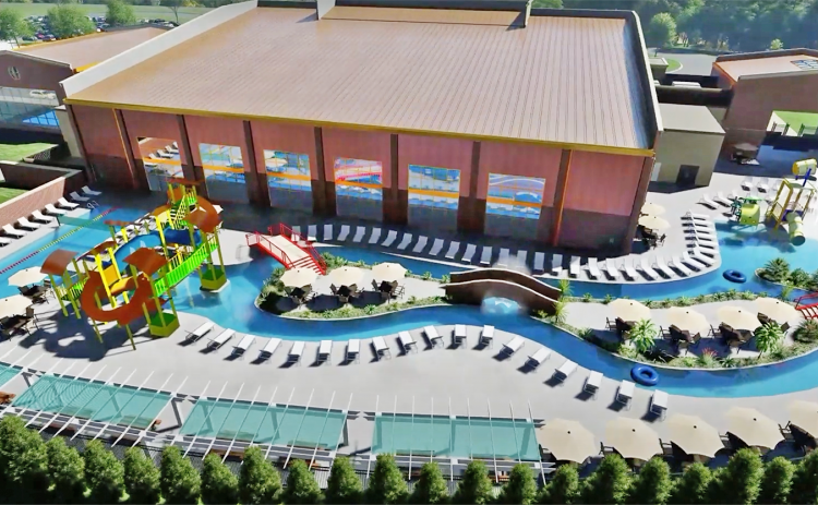 "A video released by Lumpkin County Schools revealed plans for ""Cottrell Aquatic Center"" to be located on the same property as the new Lumpkin Elementary School and included architectural renderings of the potential look of the center."