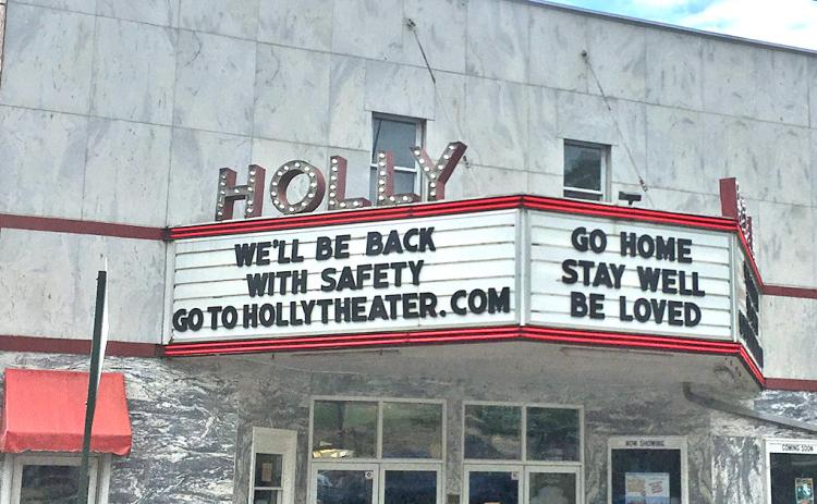 The Holly Theatre in Dahlonega